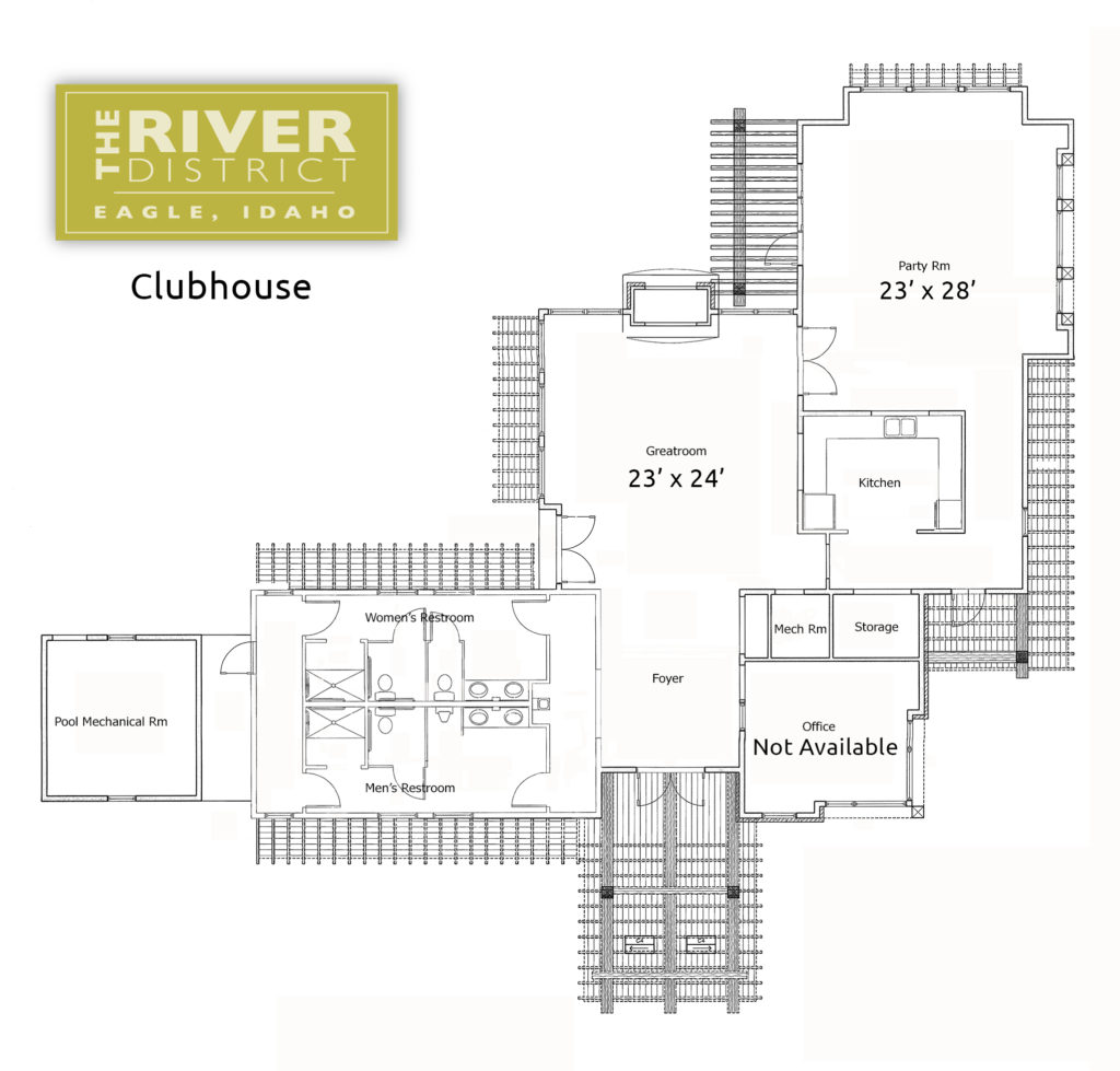 The River District - Clubhouse